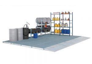 Podlahové plošiny z oceli pro pokrytí větších ploch